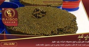 صادرات خاویار ایرانی به ترکیه