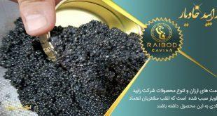 فروش و تولید خاویار در ایرانی