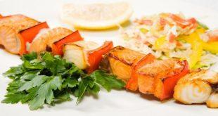 گوشت ماهی خاویار ازون برون کبابی