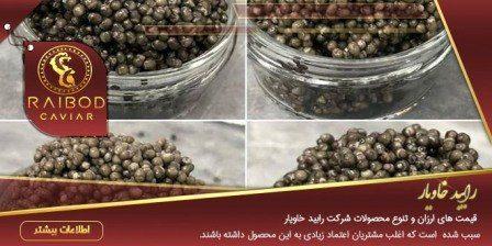 خرید انواع خاویار در ایران