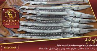 پخش ماهی خاویار