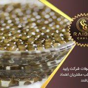 قیمت خرید مرغوبترین خاویار ایران